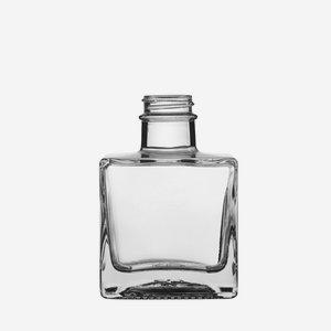 Taurus Flasche 200ml, Weißglas, Mdg.: GPI 28