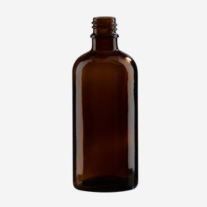 Tropfflaschen aus Braunglas, 100ml, Mdg.: gl-18