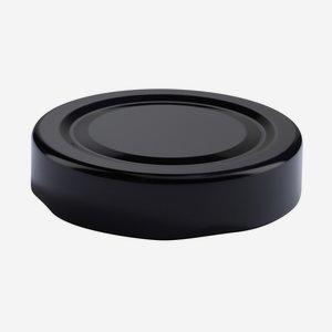 TWIST-OFF DECKEL, ø58mm, DE, schwarz