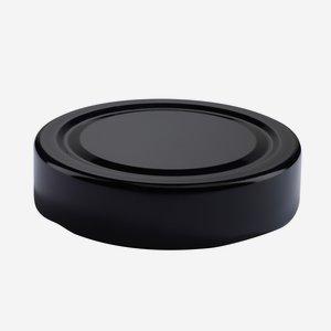 TWIST-OFF DECKEL, ø70mm, DE, schwarz