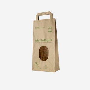 """Kartoffel-Tragetasche 2kg,""""BioAustria"""" 345/170/95"""