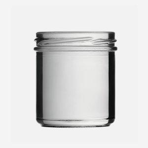 Schraubglas 167ml, Weißglas, Mdg.: TO66