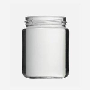 Schraubglas 275ml, Weißglas, Mdg.: TO66