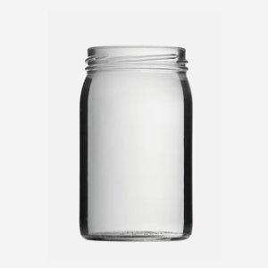 Schraubglas 314 ml, Weißglas, Mdg.: TO63
