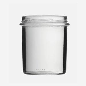 Schraubglas 350ml, Weißglas, Mdg.: TO82
