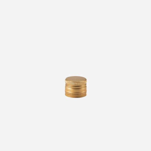 Aluschrauber deep ø31,5 x H24mm, gold