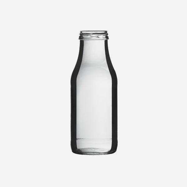 Dressingflasche 350ml, Weißglas, Mdg.: TO43