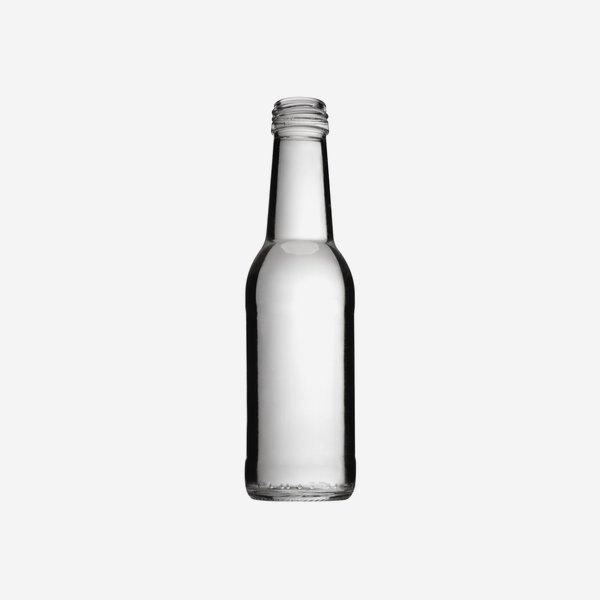 Longneck 200ml, Weißglas, Mdg.: MCA 28