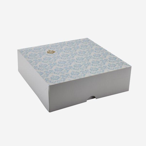 Food Karton groß, L340 x B340 x H110mm