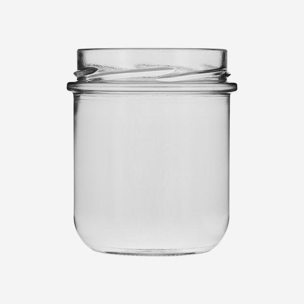 VITA Schraubglas 410ml, Weißglas, Mdg.:  TO82De