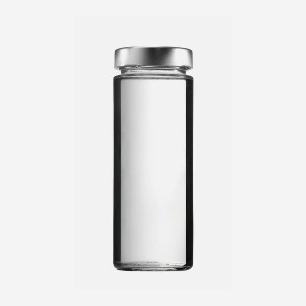 FACTUM Schraubglas 380ml, Weißglas, Mdg.: TO58De