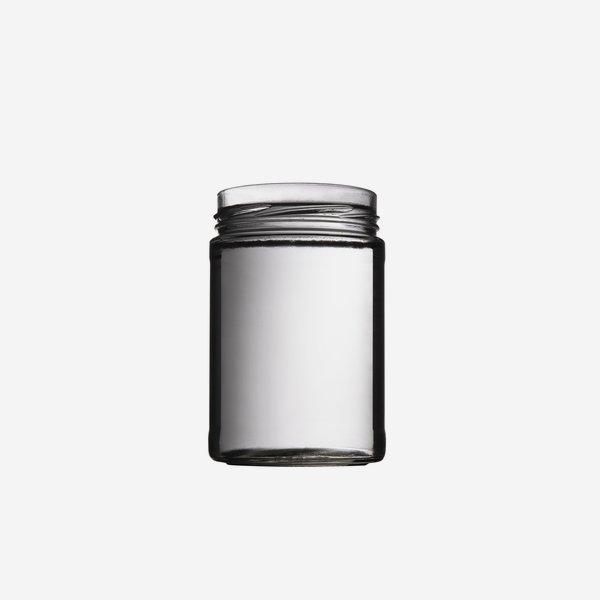 FACTUM Schraubglas 580ml, Weißglas, Mdg.: TO82De