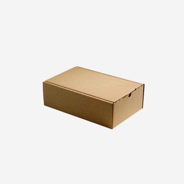 Geschenkkarton natur braun 26x16x8cm