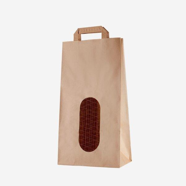 Kartoffel-Tragetasche 5kg,braun, 410/220/110
