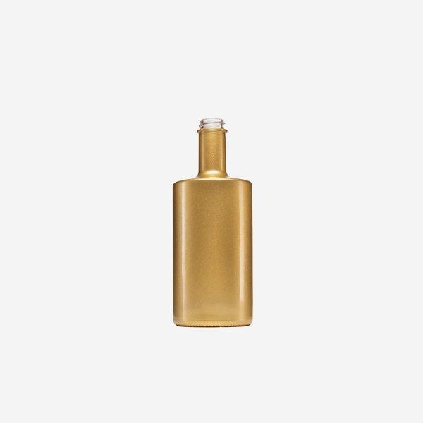Viva Flasche 500ml, gold beschichtet, GPI 28